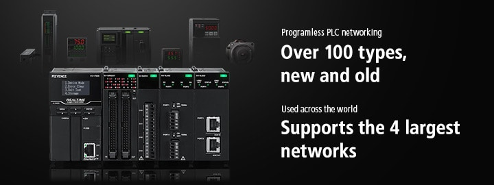 Programless PLC networking Over 100 types, new and old / Used across the world Supports the 4 largest networks