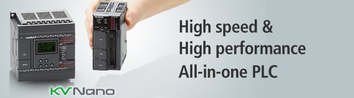 High speed & High performance All-in-one PLC