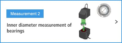 B-A- Measurement 2 Inner diameter measurement of bearings