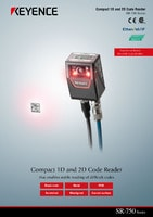 SR-750 Series High Performance Compact 1D and 2D Code Reader Catalogue