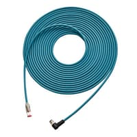 OP-88302 - Ethernet cable (NFPA79-compliant) Right angle connector 5 m